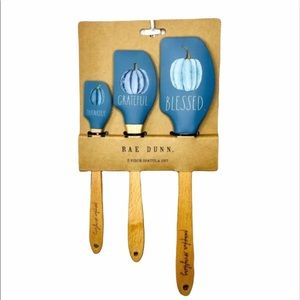 🆕 Rae Dunn BLESSED Spatula Set Of 3